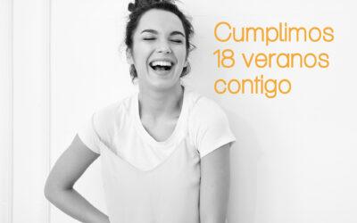 Cumplimos 18 veranos contigo… y lo celebramos con una SUPER PROMO en nuestros TOP de tratamientos faciales